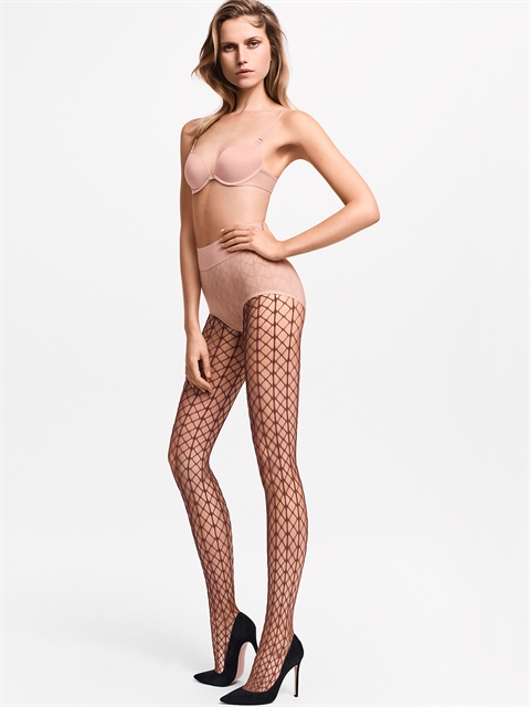 Tina Fishnet Tights